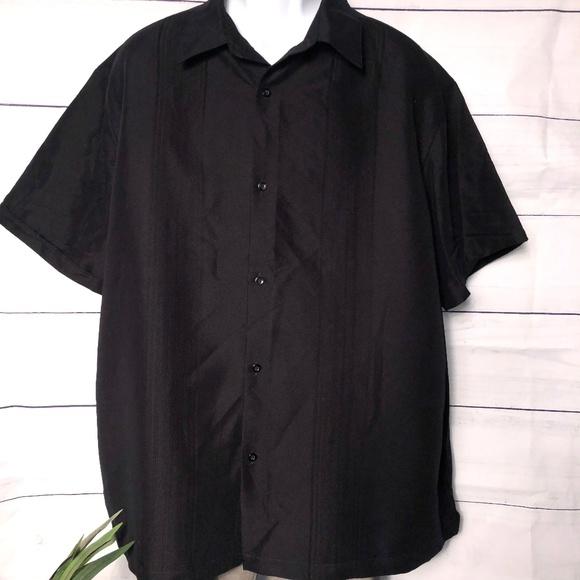 Claiborne Other - Claiborne No Tuck SS Button-Front Shirt - XXL